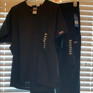 Men's Cherokee workwear scrubs- black